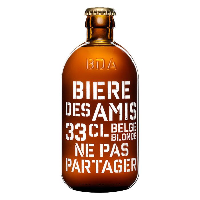Biere Des Amis Birra Chiara Dolce 33 cl Gradazione Alcolica 5,8%