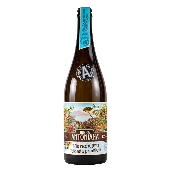 Birra Antoniana Marechiaro 75 cl Birra Chiara Dolce Gradazione Alcolica 5,2%