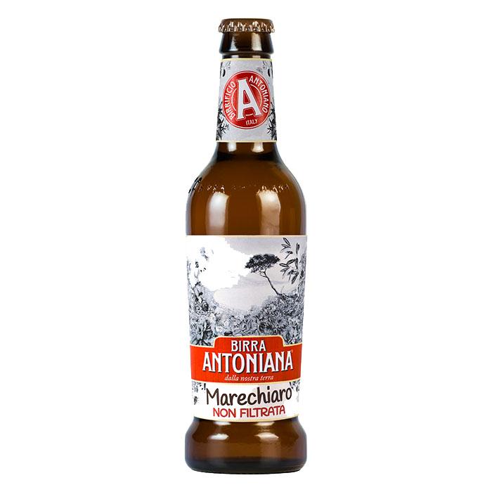 Birra Antoniana Marechiaro Non Filtrata 33 cl Birra Chiara Dolce Gradazione Alcolica 5,2%