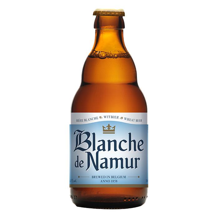 Blanche de Namur Birra Chiara Dolce 33 cl Gradazione Alcolica 4,5%