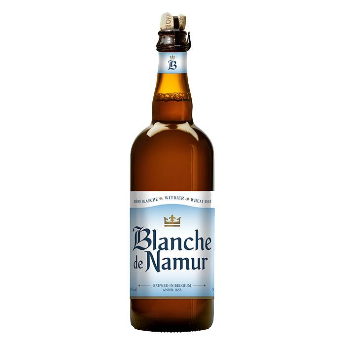 Blanche de Namur Birra Chiara Dolce 75 cl Gradazione Alcolica 4,5%