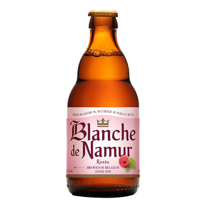 Blanche de Namur Rosee Birra Ambrata Dolce 33 cl Gradazione Alcolica 3,4%