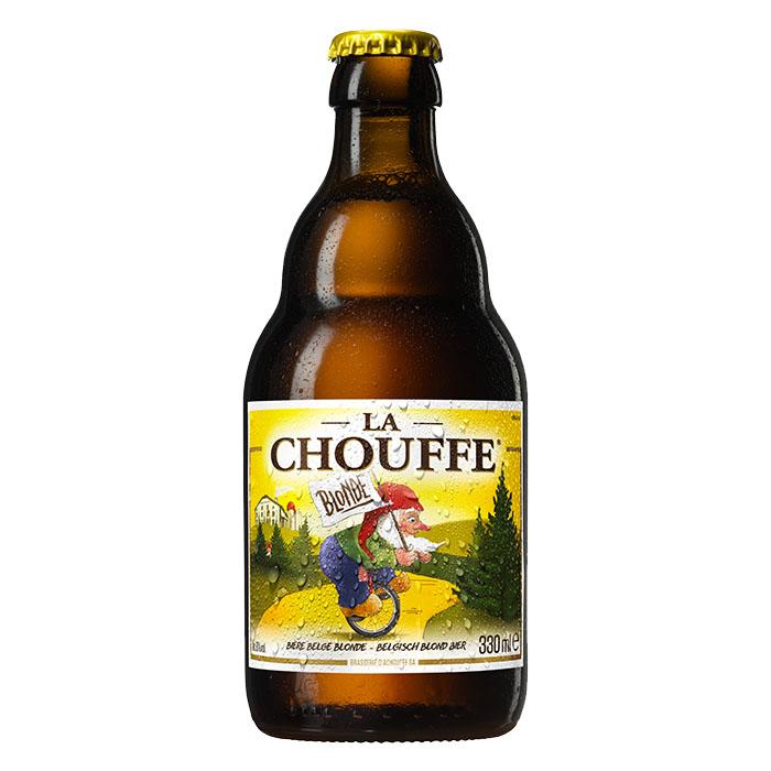 La Chouffe Birra Chiara Dolce 33 cl Gradazione Alcolica 8%