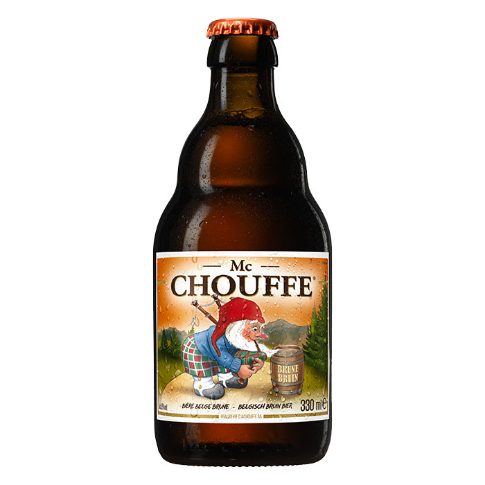 Mc Chouffe Birra Scura Dolce 33 cl Gradazione Alcolica 8%