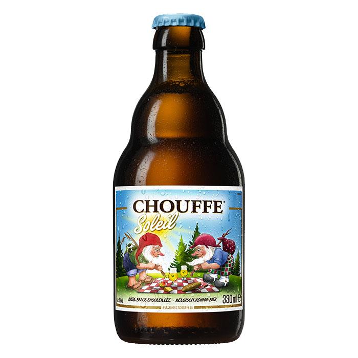 Chouffe Soleil Birra Chiara Dolce 33 cl Gradazione Alcolica 6%
