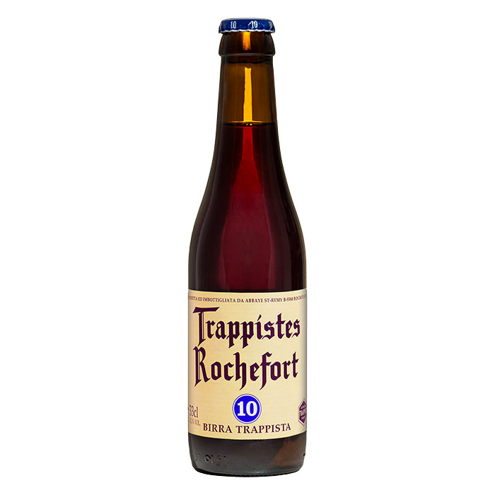 Rochefort 10 Birra Trappista Scura Dolce 33 cl Gradazione Alcolica 11,3%