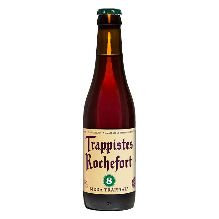Rochefort 8 Birra Trappista Scura Dolce 33 cl Gradazione Alcolica 9,2%