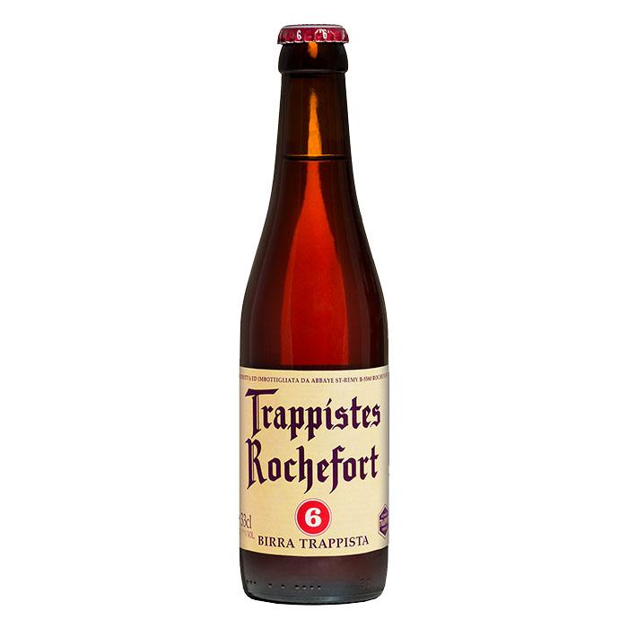 Rochefort 6 Birra Trappista Scura Dolce 33 cl Gradazione Alcolica 7,5%