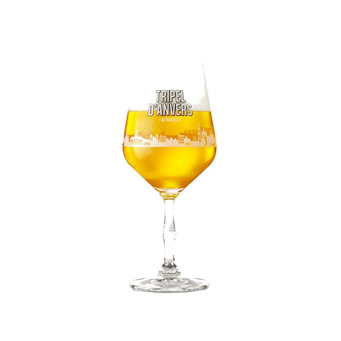Bicchiere Calice De Koninck Tripel D'Anvers 33 cl