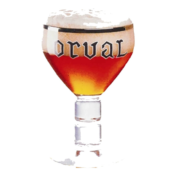 Bicchiere Calice Orval 30 cl Trappista