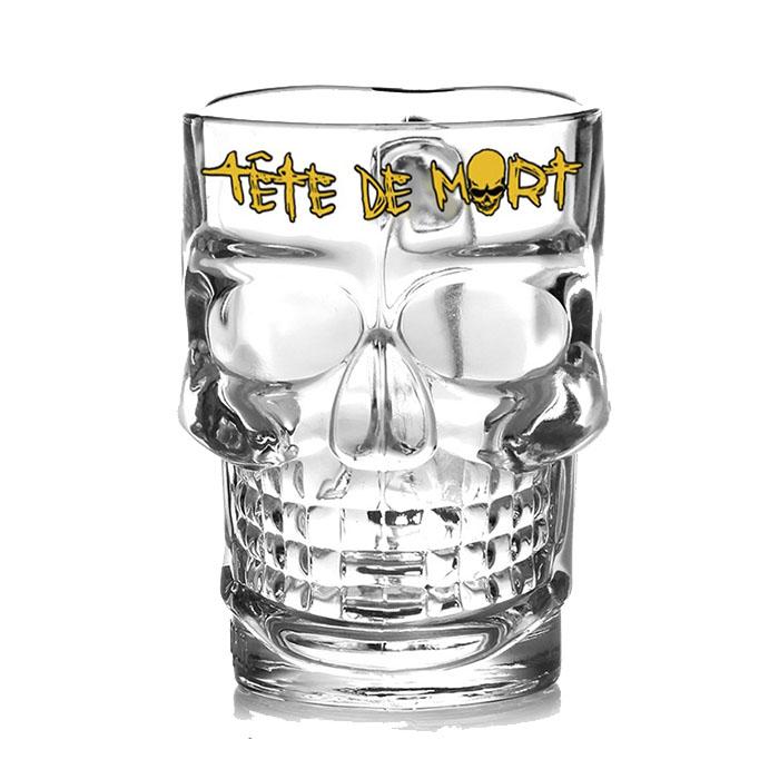 Bicchiere Boccale Tete de Mort 25 cl