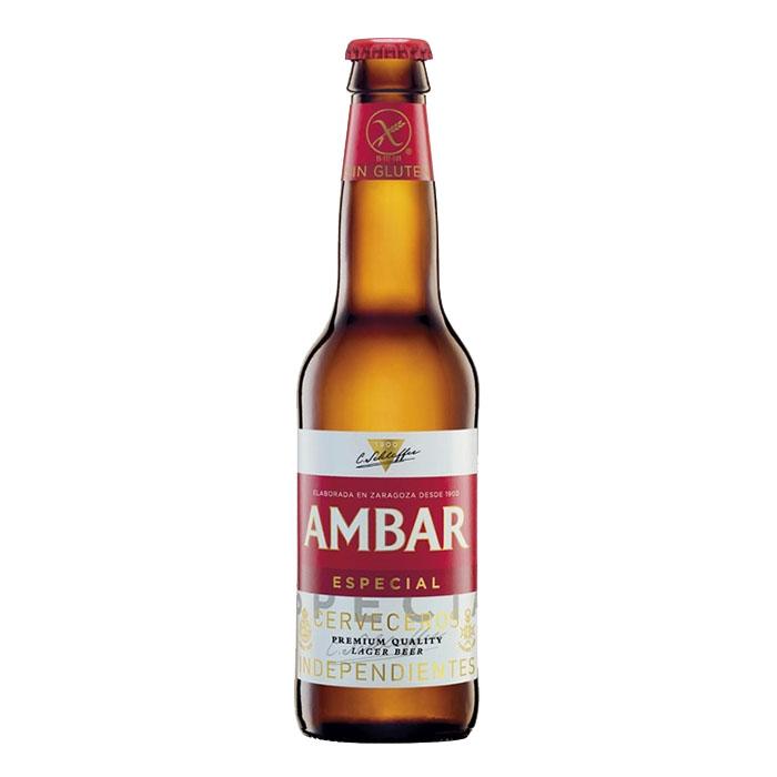 Ambar Especial Gluten Free 33 cl Birra Ambrata Amara Gradazione Alcolica 5,2%
