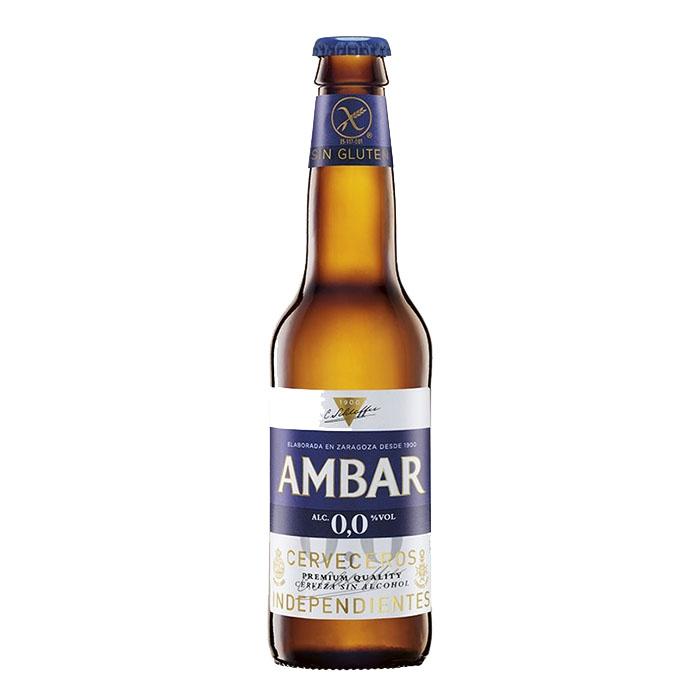 Ambar 0,0 Gluten Free Analcolica 33 cl Birra Ambrata Dolce Gradazione Alcolica 0%