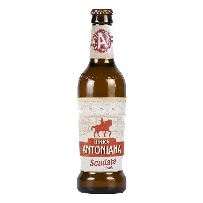 Birra Antoniana Scudata 33 cl Birra Chiara Dolce Gradazione Alcolica 5,2%