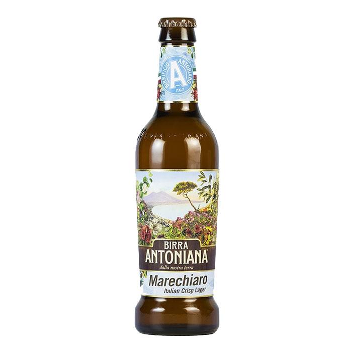 Birra Antoniana Marechiaro 33 cl Birra Chiara Dolce Gradazione Alcolica 5,2%