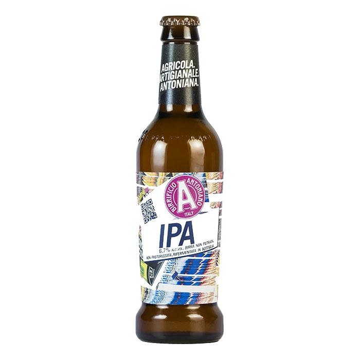 Birra Antoniana IPA 33 cl Birra Ambrata Amara Gradazione Alcolica 6,7%