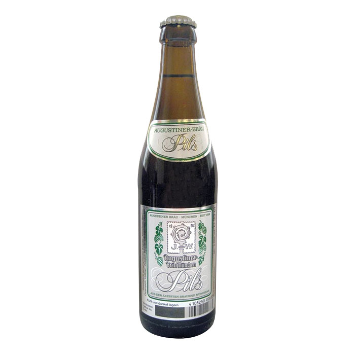Augustiner Pils 33 cl Birra Chiara Amara Gradazione Alcolica 5,6%