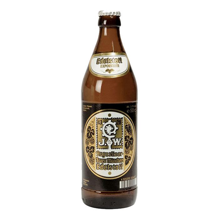 Augustiner Edelstoff 50 cl Birra Chiara Dolce Gradazione Alcolica 5,6%