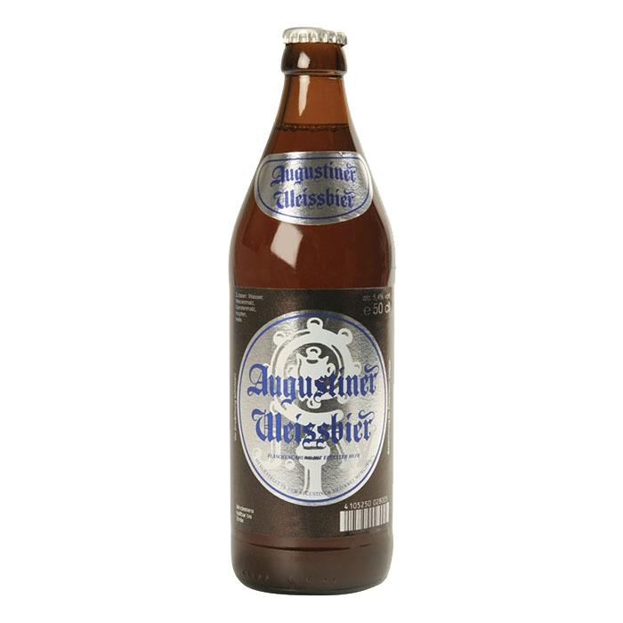 Augustiner Weissbier 50 cl Birra Chiara Dolce Gradazione Alcolica 5,4%