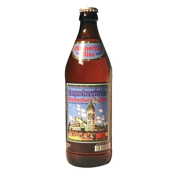 Augustiner Oktoberfestbier 50 cl Birra Chiara Dolce Gradazione Alcolica 6%