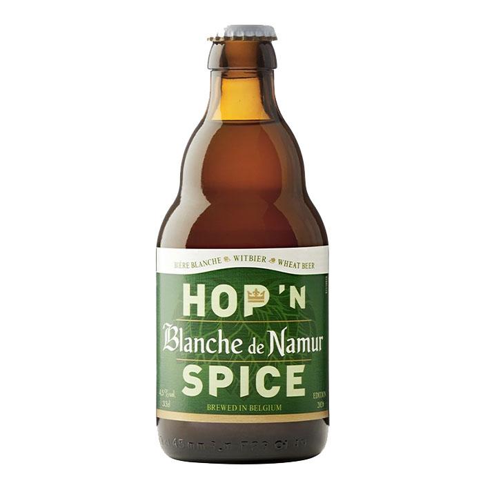 Blanche de Namur Hop'n Spice Birra Chiara Dolce 33 cl Gradazione Alcolica 4,5%