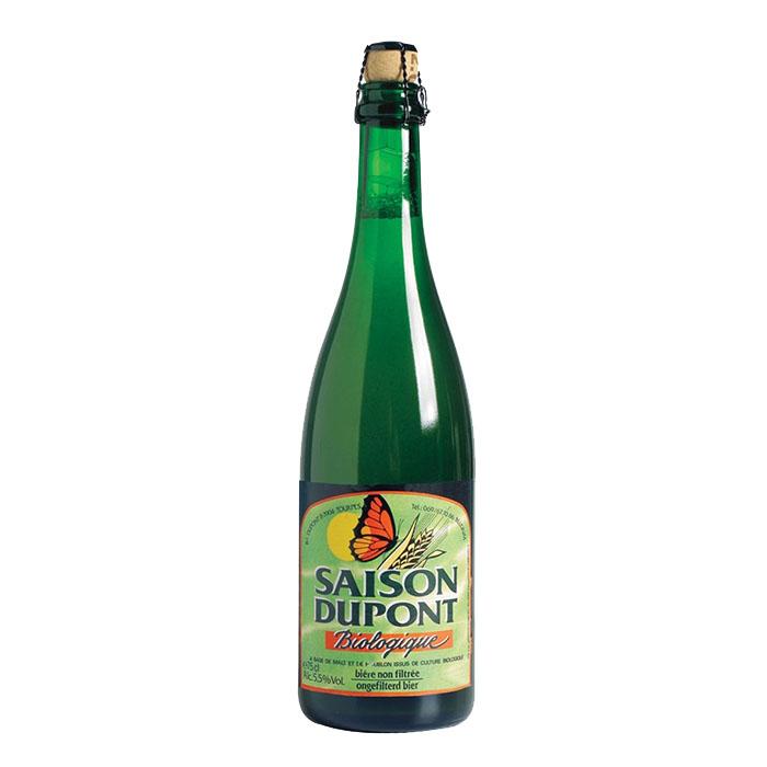 Saison Dupont Biologique Birra Chiara Amara 75 cl Gradazione Alcolica 5,5%