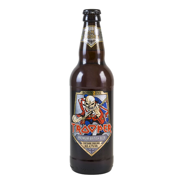 Robinson's Iron Maiden Trooper Ale 50 cl Birra Chiara Amara Gradazione Alcolica 4,7%