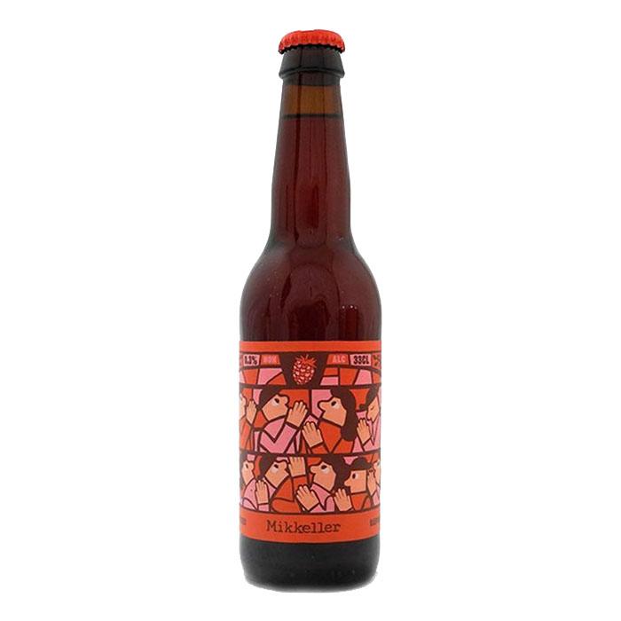 Mikkeller Limbo Series Raspberry Analcolica 33 cl Birra Ambrata Acidula Gradazione Alcolica 0,3%