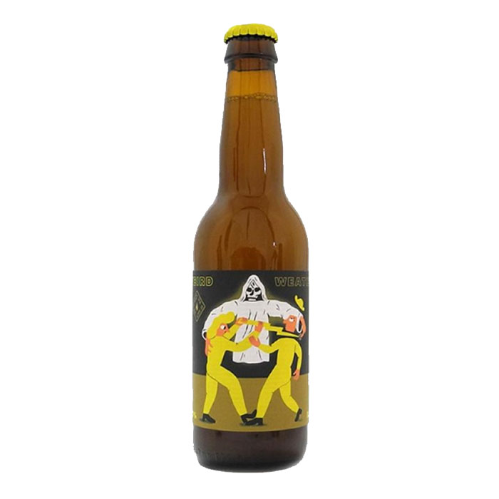 Mikkeller Weird Weather Hazy IPA Analcolica 33 cl Birra Chiara Amara Gradazione Alcolica 0,3%