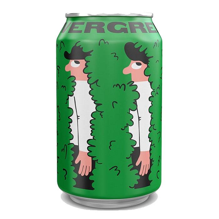 Mikkeller Evergreen IPA 33 cl Lattina Birra Chiara Amara Gradazione Alcolica 3,5%