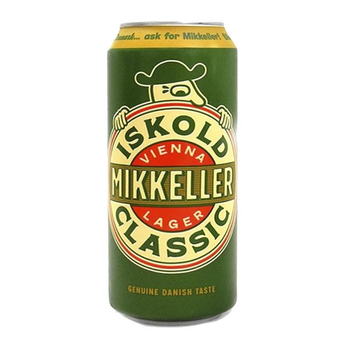 Mikkeller Iskold Classic Vienna Lager 50 cl Lattina Birra Ambrata Dolce Gradazione Alcolica 5,6%