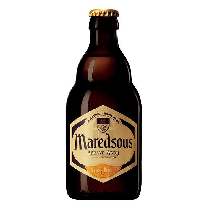 Maredsous Blonde Birra Chiara Dolce 33 cl Gradazione Alcolica 6%