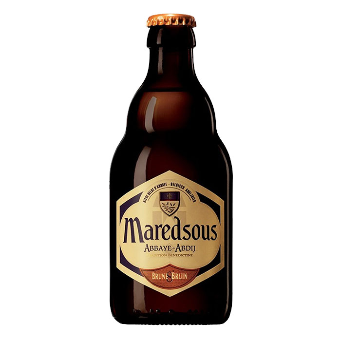 Maredsous Brune Birra Ambrata Dolce 33 cl Gradazione Alcolica 8%