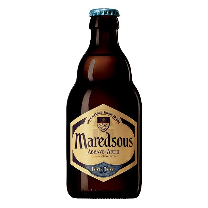 Maredsous Triple Birra Ambrata Dolce 33 cl Gradazione Alcolica 10%