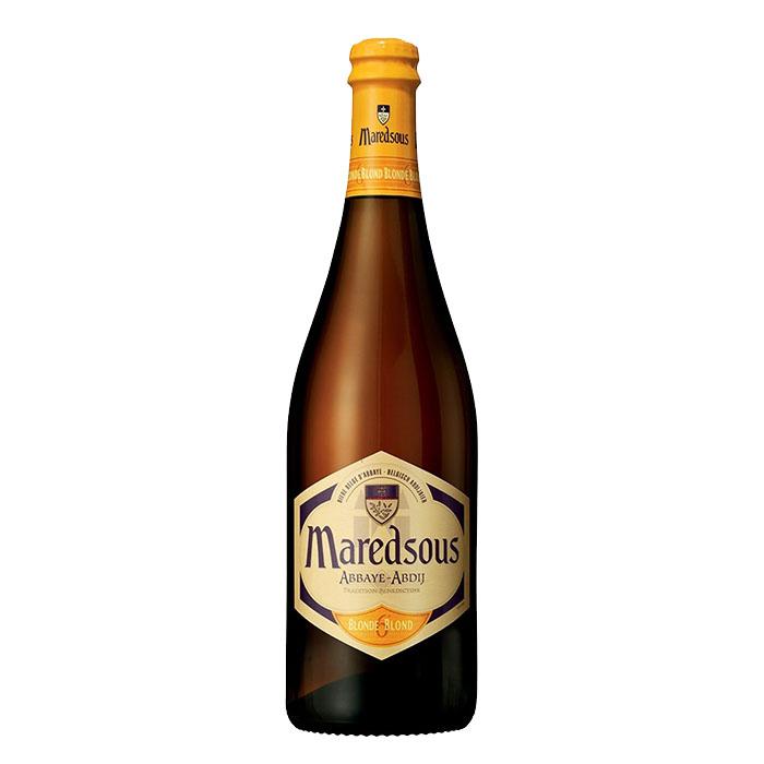 Maredsous Blonde Birra Chiara Dolce 75 cl Gradazione Alcolica 6%
