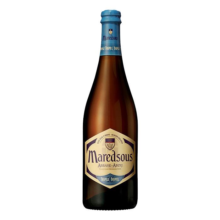 Maredsous Triple Birra Ambrata Dolce 75 cl Gradazione Alcolica 10%