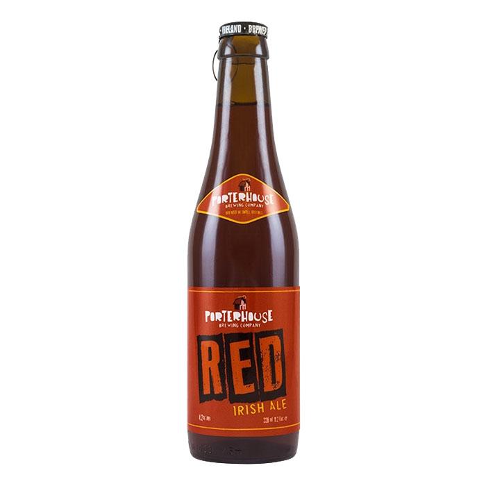 Porterhouse Red Irish Ale 33 cl Birra Ambrata Amara Gradazione Alcolica 4,2%