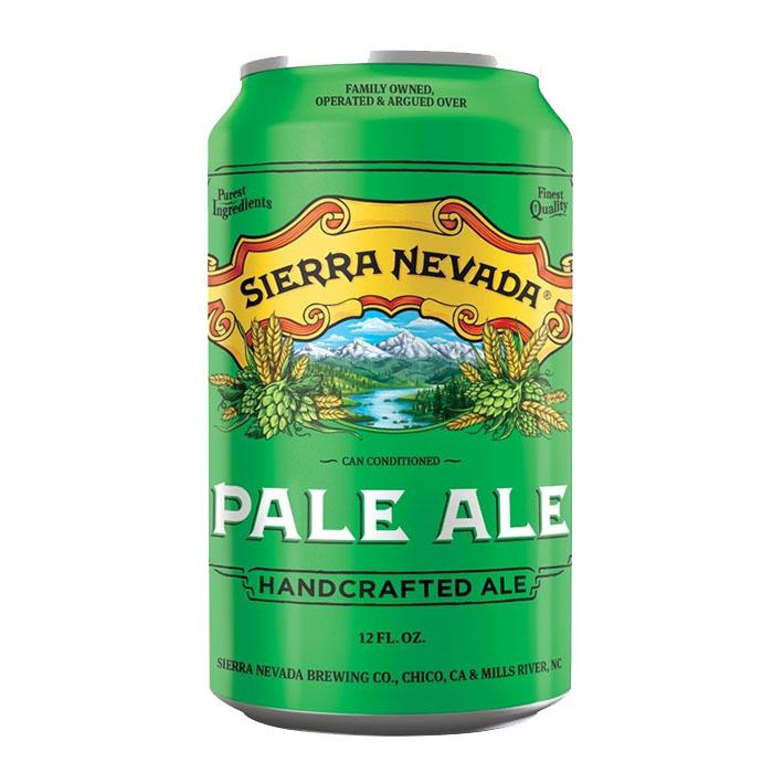 Sierra Nevada Pale Ale 35,5 cl Lattina Birra Ambrata Amara Gradazione Alcolica 5%