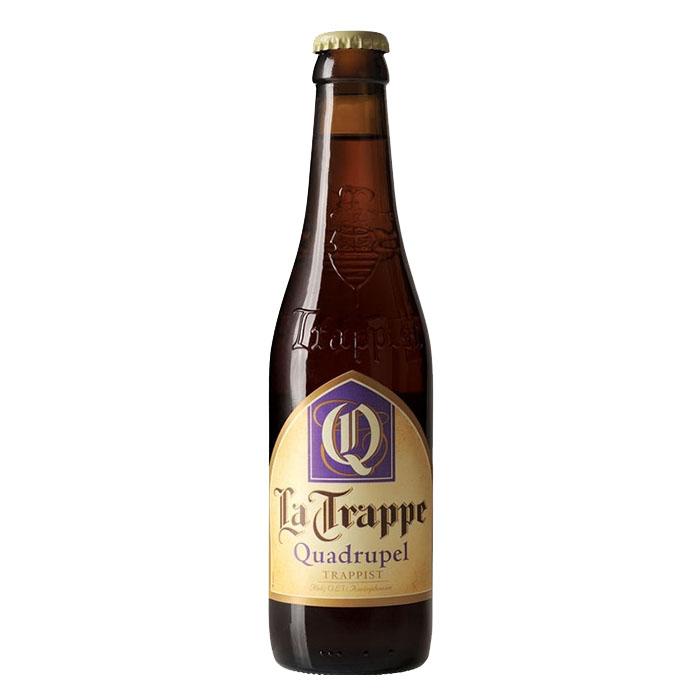 La Trappe Quadrupel Birra Trappista Ambrata Dolce 33 cl Gradazione Alcolica 10%