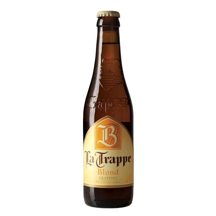 La Trappe Blond Birra Trappista Chiara Dolce 33 cl Gradazione Alcolica 6,5%