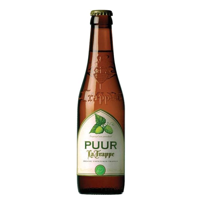 La Trappe Puur Bio Birra Trappista Dolce Chiara 33 cl Gradazione Alcolica 4,5%