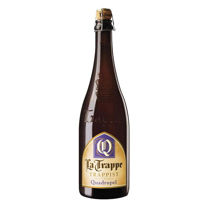 La Trappe Quadrupel Birra Trappista Ambrata Dolce 75 cl Gradazione Alcolica 10%