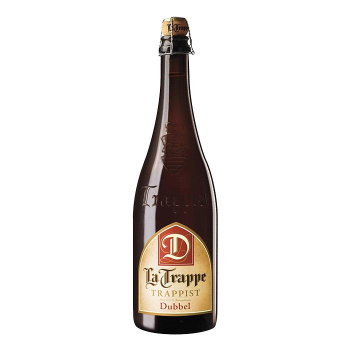 La Trappe Dubbel Birra Trappista Ambrata Dolce 75 cl Gradazione Alcolica 7%