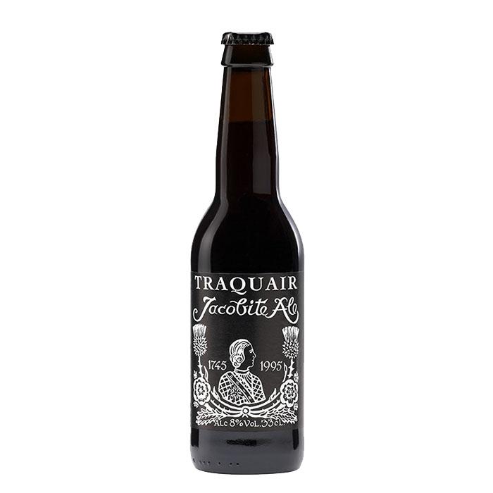 Traquair Jacobite Ale 33 cl Birra Ambrata Amara Gradazione Alcolica 8%