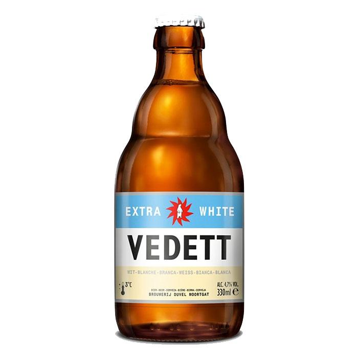 Vedett Extra White 33 cl Birra Chiara Dolce Gradazione Alcolica 4,7%