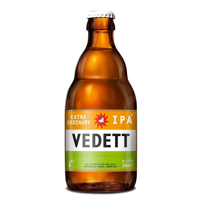Vedett Extra Ordinary IPA 33 cl Birra Ambrata Amara Gradazione Alcolica 5,5%