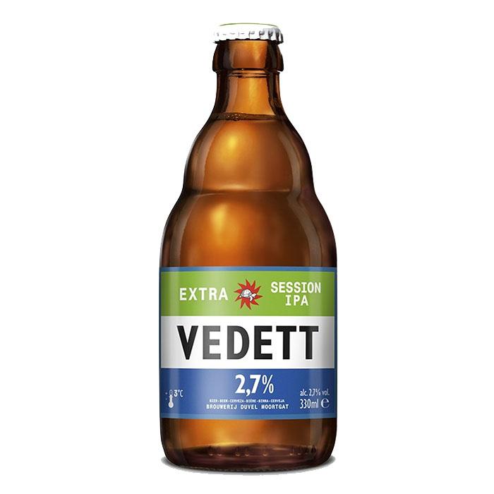 Vedett Extra Session IPA 33 cl Birra Chiara Amara Gradazione Alcolica 2,7%