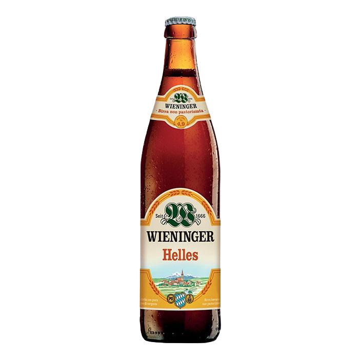 Wieninger Helles 50 cl Birra Chiara Dolce Gradazione Alcolica 4,9%