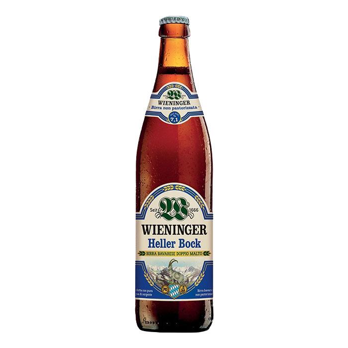 Wieninger Heller Bock 50 cl Birra Chiara Dolce Gradazione Alcolica 7,1%