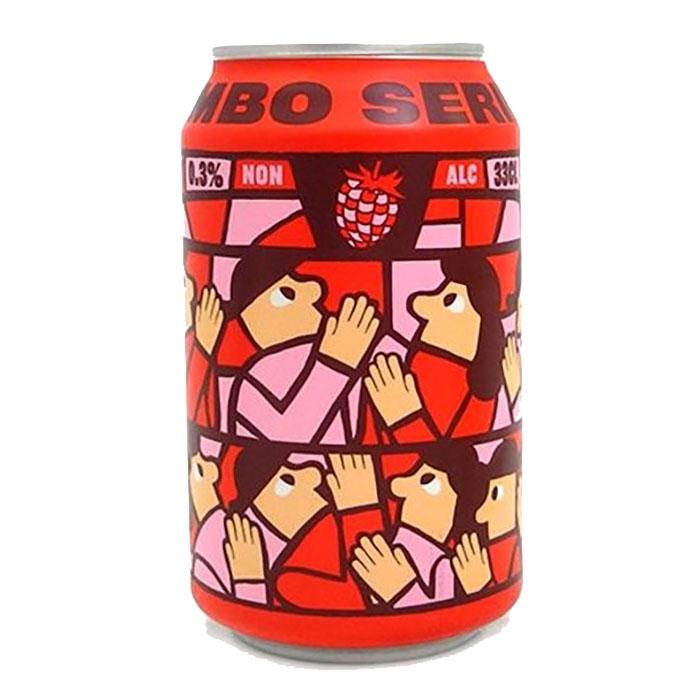 Mikkeller Limbo Series Raspberry Analcolica 33 cl Lattina Birra Ambrata Acidula Gradazione Alcolica 0,3%